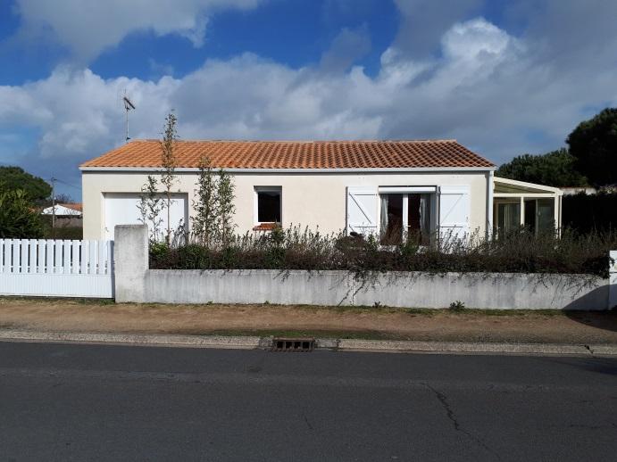 BARBATRE, dans le centre maison de 60 m² sur 500 m² de terrain