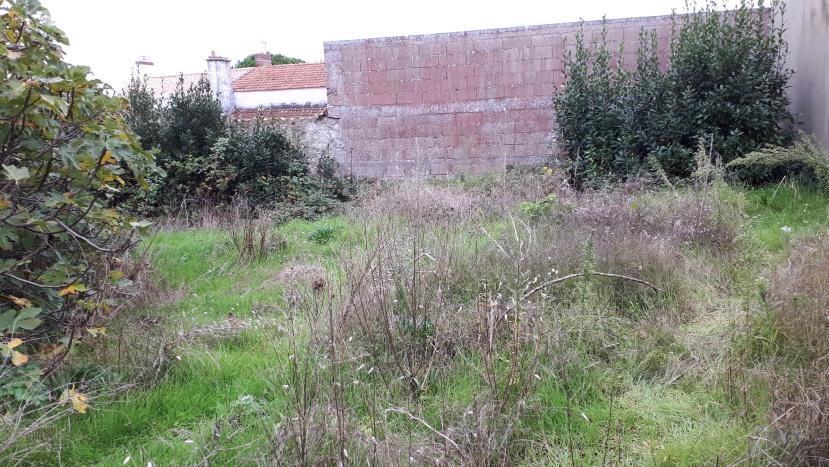 Terrain à bâtir non viabilisé de 655 m²